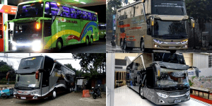 5 Type & Jenis Bus Yang Ada Di Indonesia