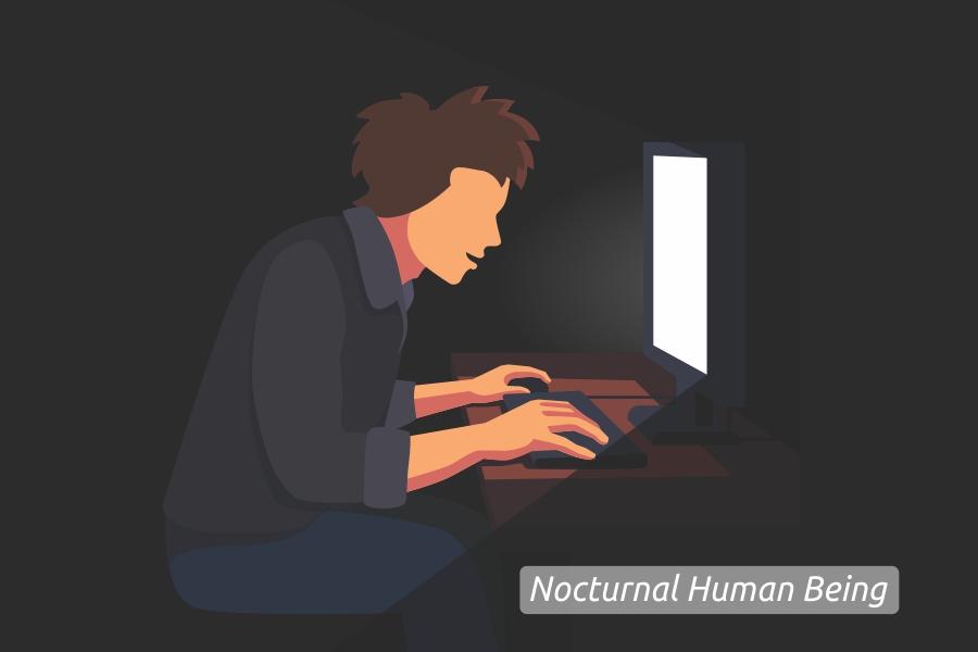 Nocturnal Human Being, Si Manusia Pemuja Malam