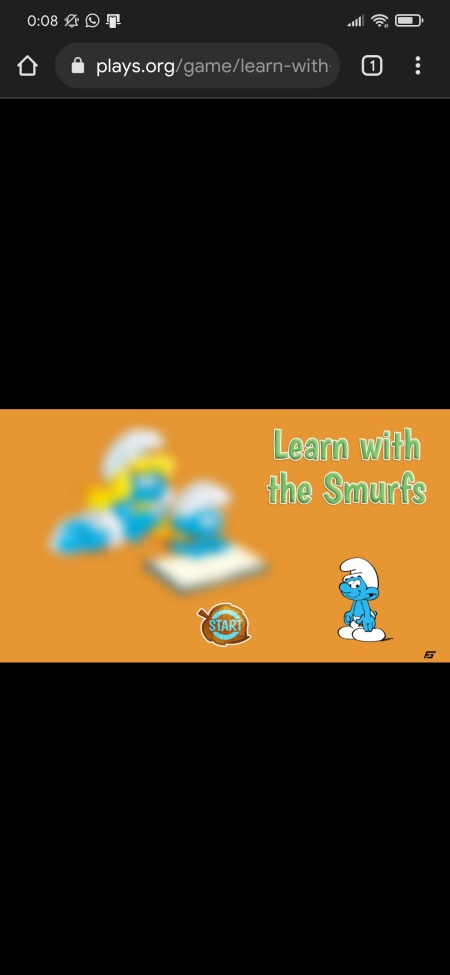 learn with smurfs